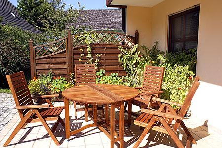 Gartentisch holz metall ausziehbar  Gartentisch aus Holz, wie Teak & Rattan, Metall wie Aluminium ...